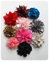 NEW Blissful Blooms Fabric Flower PDF - Modern Vintage Designs