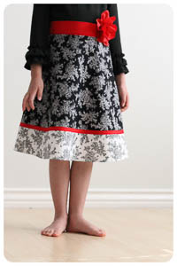 NEW Chloe Skirt PDF - Modern Vintage Designs - Sizes 1–12