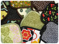 NEW Easy Peasy Potholders PDF - Modern Vintage Designs