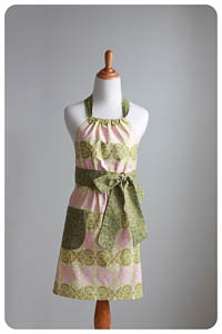 NEW Haltered Apron PDF - Modern Vintage Designs