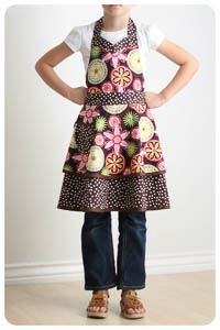 NEW Luscious Layers Girls Apron PDF - Modern Vintage Designs