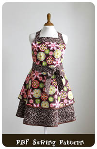 NEW Luscious Layers Apron PDF - Modern Vintage Designs - PLUS