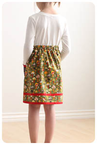 NEW Patty Pockets Skirt PDF - Modern Vintage Designs -Sizes 1–12
