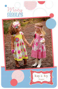 Macy Giggles Dress - Izzy & Ivy (size 2 - 14)