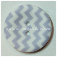 "Lavender Chevron 1"" Buttons - by the button"