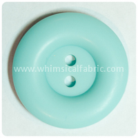 "Aqua Round Matte 1"" Buttons - by the button"