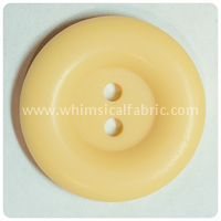 "Butter Round Matte 1"" Buttons - by the button"