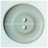 "Grey Round Matte 1"" Buttons - by the button"