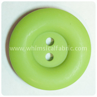 "Lime Round Matte 1"" Buttons - by the button"