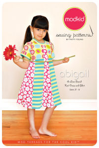 Abigail - A-line Gored Knit Dress and Shirt - Modkid (size 2T-8)