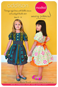 Addison - Vintage Dress w/ Bubble Skirt - Modkid (size 2T-10)