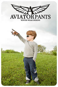 Aviator Pants PDF - Winter Wear Designs - Sizes 18M thru 14Y