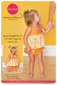 Hannah Baby - Ruffled Bloomers & Cropped Top - Modkid (6M-36M)