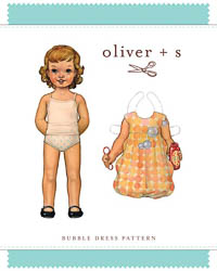 Bubble Dress - PDF Pattern - Oliver+S