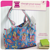 Change Your Mind Slipcover Bag - PDF Pattern - Straight Stitch