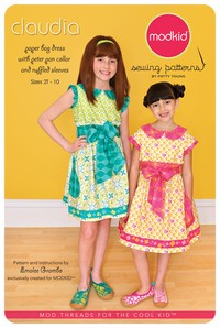 Claudia - Dress with Peter Pan Collar - Modkid (size 2T-10)