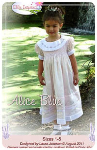 Alice Blue PDF - Ellie Inspired - Sizes 1 thru 5