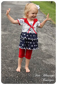 NEW All Hands on Deck & Doll PDF - Ellie Inspired - Sizes 1 - 16
