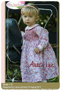 Aura Lee & Doll PDF - Ellie Inspired - Sizes 1 thru 5