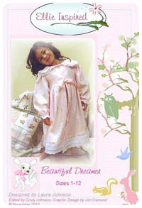 Beautiful Dreamer PDF - Ellie Inspired - Sizes 1 thru 12