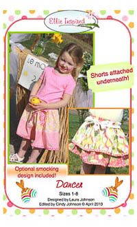 Dancer Skirt & Doll PDF - Ellie Inspired - Sizes 1 thru 8