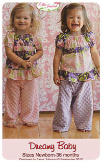 Dreamy Baby & Doll PDF - Ellie Inspired - NB thru 36M