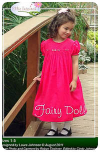Fairy Doll PDF - Ellie Inspired - Sizes 1 thru 16