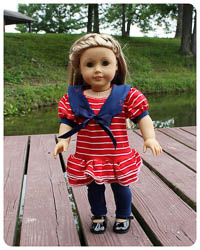 "NEW Mini All Hands on Deck PDF - Ellie Inspired - 15""&18"" Dolls"