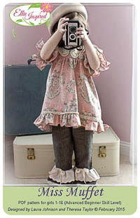 Miss Muffet PDF - Ellie Inspired - Sizes 1 thru 16