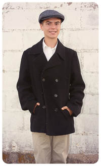 Polar Express Pea Coat PDF - Ellie Inspired - Sizes 1 thru 16