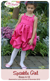 Sparkle Girl PDF - Ellie Inspired - Sizes 4 thru 12