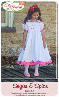 Sugar & Spice PDF - Ellie Inspired - Sizes 1 thru 5