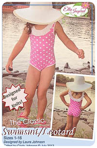 Swimsuit/Leotard & Doll PDF - Ellie Inspired - Sizes 1 thru 16
