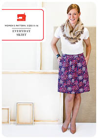Everyday Skirt - PDF Pattern - Liesl+Co