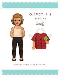 Forest Path Cape - PDF Pattern - Oliver+S