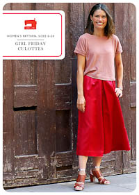 Girl Friday Culottes - PDF Pattern - Liesl+Co