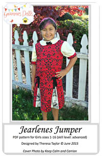 Jearlenes Jumper PDF - Grammies Dolls - Sizes 1-16
