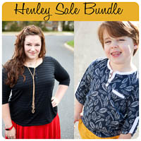 Henley Sale Bundle PDF - Winter Wear Designs