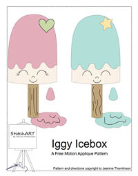 Iggy the Icebox - PDF FMA Pattern - StitchART