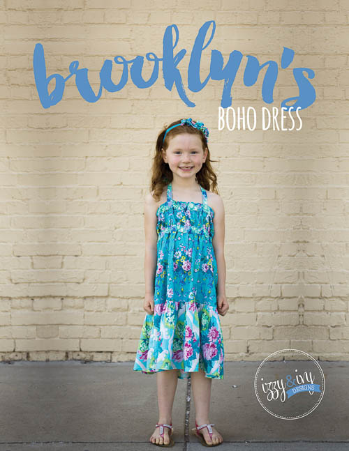 NEW Brooklyn\'s Boho Dress & Top PDF Pattern - Izzy & Ivy Designs ...