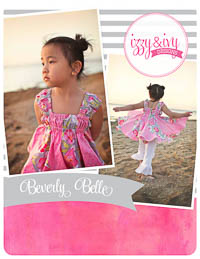 NEW Beverly Belle Twirl Top PDF Pattern - Izzy & Ivy Designs