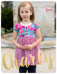 NEW Charly Tunic PDF Pattern - Izzy & Ivy Designs