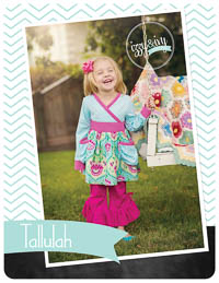 NEW Tallulah Top & Dress PDF Pattern - Izzy & Ivy Designs