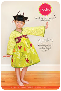 Kyoko - Asian-inspired Shirt and Dress - Modkid (size 2T-7)