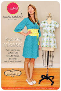 Kyoko Misses' - Asian Shirt & Dress - Modkid (size XS-XXL)