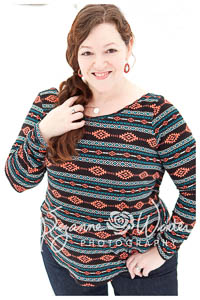 La Croix Reversible Cross Top PDF- Winter Wear Designs -XXS-XXXL