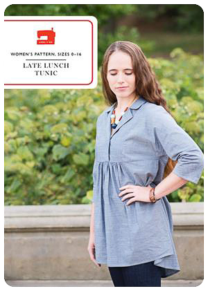 Late Lunch Tunic - PDF Pattern - Liesl+Co