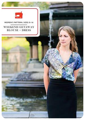 Weekend Getaway Blouse + Dress - PDF Pattern - Liesl+Co