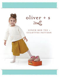 Lunch Box Tee + Culottes - PDF Pattern - Oliver+S