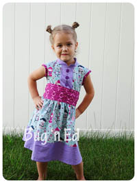 Cherry Blossom Dress PDF - Mandy K Designs - 12M thru 14 + Doll